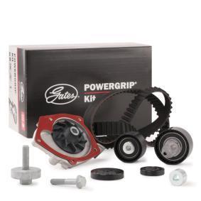 WP0063 GATES mit Wasserpumpe, FleetRunner™ Micro-V® Stretch Fit® Wasserpumpe + Zahnriemensatz KP45550XS günstig kaufen