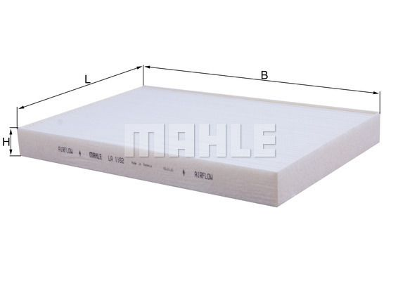 MAHLE ORIGINAL Filter, Innenraumluft für RENAULT TRUCKS - Artikelnummer: LA 1162