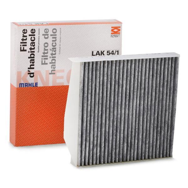 Köp MAHLE ORIGINAL LAK 54/1 - Värme / ventilation till Volvo: aktivtkolfilter B: 242mm, H: 43mm, L: 273mm