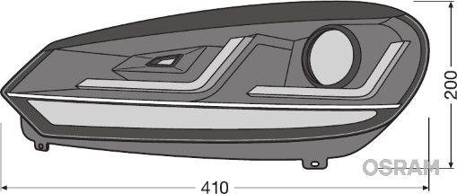Faro principale LEDHL102-GTI acquista online 24/7