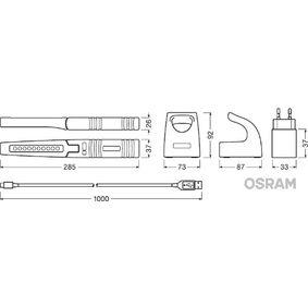 OSRAM LEDinspect PRO SLIMLINE 280 Lamptyp: LED Handlampor LEDIL103 köp lågt pris