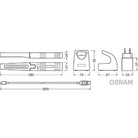 LEDIL103 OSRAM LEDinspect PRO SLIMLINE 280 3,4V, Lamptyp: LED Handlampor LEDIL103 köp lågt pris