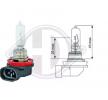 Glühlampe, Fernscheinwerfer LID10035 — aktuelle Top OE N00-000-0001605 Ersatzteile-Angebote