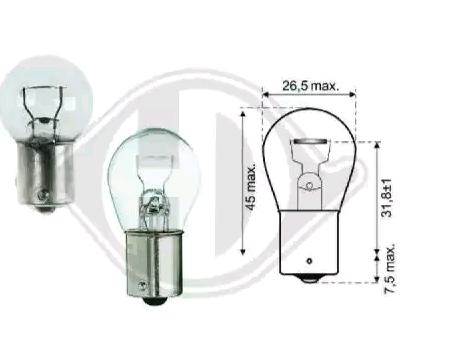 Lampadina luce posteriore LID10045 DIEDERICHS — Solo ricambi nuovi
