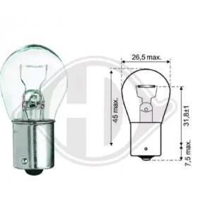 P21W DIEDERICHS P21W, Ba15s, 12V, 21W Glühlampe, Blinkleuchte LID10047 günstig kaufen