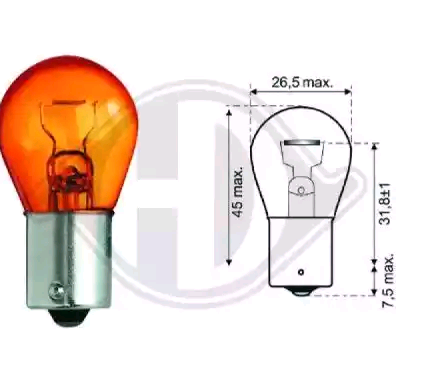 OE Original Glühlampe Blinker LID10048 DIEDERICHS