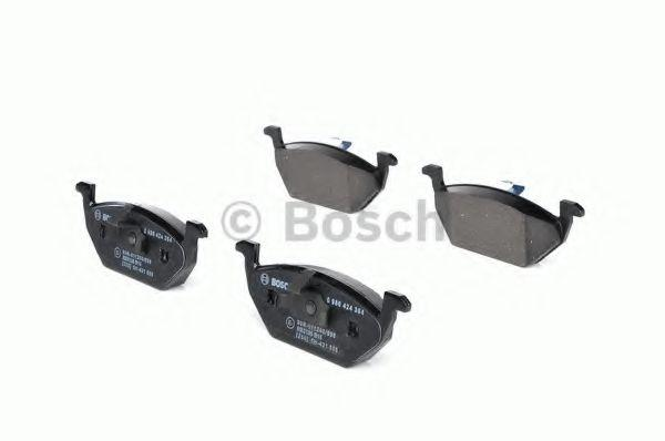 Bosch 0/986/424/313/gioco di 4/piastrine di freno posteriore