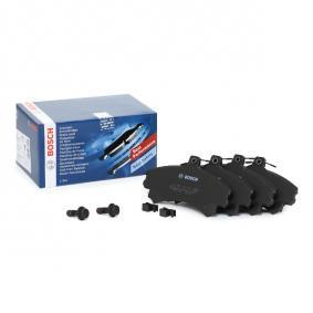 Brake Pad Set, disc brake 0 986 424 371 for SMART FORFOUR at a discount — buy now!