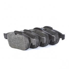 8700D1501 BOSCH mit Kolbenclip, mit Anti-Quietsch-Blech Höhe: 72mm, Breite: 155,1mm, Dicke/Stärke: 18mm Bremsbelagsatz, Scheibenbremse 0 986 424 616 günstig kaufen