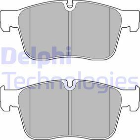D18619090 DELPHI Höhe: 77mm, Dicke/Stärke 1: 18mm Bremsbelagsatz, Scheibenbremse LP3187 günstig kaufen