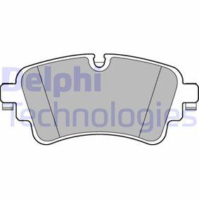 D18989126 DELPHI Höhe: 59mm, Dicke/Stärke 1: 17mm Bremsbelagsatz, Scheibenbremse LP3240 günstig kaufen