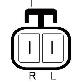 LRA03173 LUCAS ELECTRICAL 14V, 100A Rippenanzahl: 6 Generator LRA03173 günstig kaufen