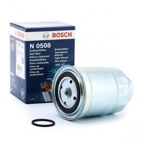 Palivový filter 0 986 450 508 0 986 450 508 MITSUBISHI PAJERO III (V7_W, V6_W) — využite skvelú ponuku hneď!
