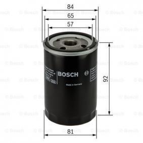 0 986 452 036 Ölfilter BOSCH - Markenprodukte billig