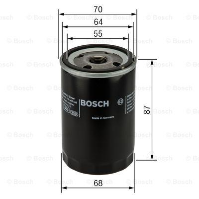 0 986 452 041 Engine oil filter BOSCH - Cheap brand products