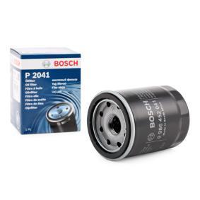 P2041 BOSCH Filtro aparafusado Ø: 68mm, Altura: 87mm Filtro de óleo 0 986 452 041 comprar económica
