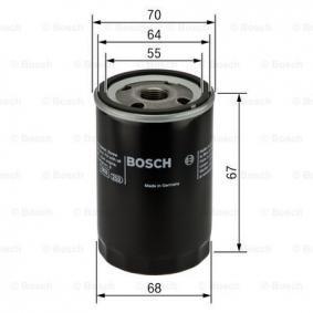 0 986 452 061 Alyvos filtras BOSCH - Pigus kokybiški produktai