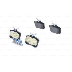 Scheibenbremse für Bremsanlage Hinterachse BOSCH 0 986 494 596 Bremsbelagsatz