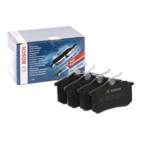 BP689 BOSCH mit Anti-Quietsch-Blech, mit Montageanleitung Höhe: 52,8mm, Breite: 87,1mm, Dicke/Stärke: 14,3mm Bremsbelagsatz, Scheibenbremse 0 986 466 683 günstig kaufen