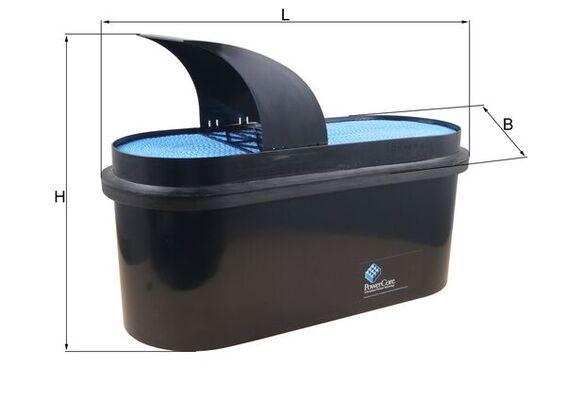LX 3556 KNECHT Luftfilter billiger online kaufen