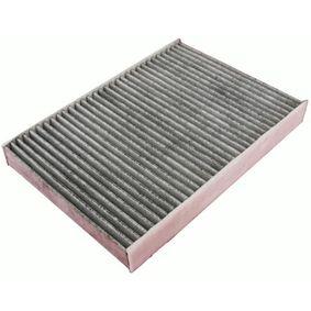 M110719K DENCKERMANN Aktivkohlefilter Breite: 196mm, Höhe: 36mm, Länge: 290mm Filter, Innenraumluft M110719K günstig kaufen