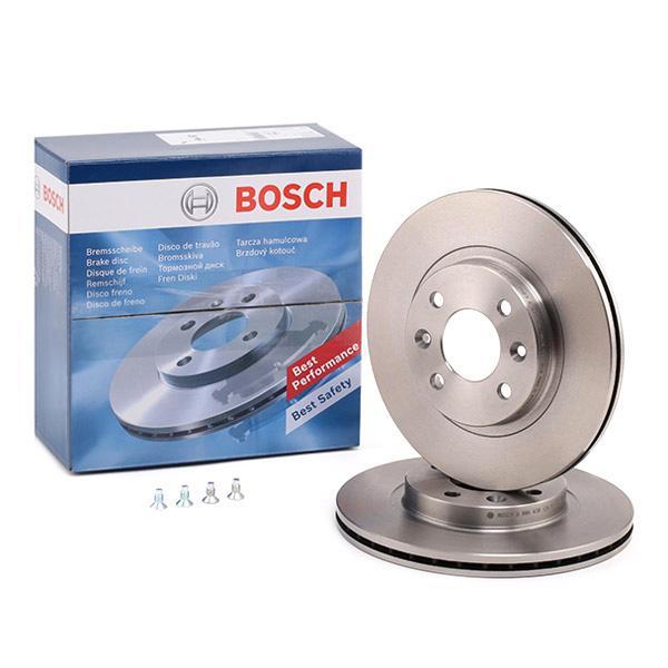 2x Bosch Disque de frein 0 986 478 495 pour VOLVO