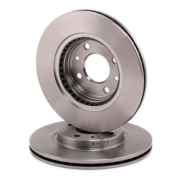 Stabdžių diskas 0 986 478 124 nuo BOSCH