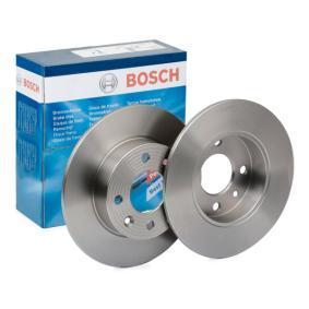 BD218 BOSCH Voll, geölt, mit Schrauben Ø: 237,8mm, Lochanzahl: 4, Bremsscheibendicke: 8,1mm Bremsscheibe 0 986 478 273 günstig kaufen
