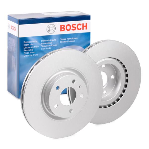 Alfa Romeo SPIDER 2007 Brake disc set BOSCH 0 986 478 521: Vented, Coated, with bolts/screws