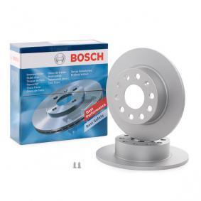 BD1029 BOSCH Voll, beschichtet, mit Schrauben Ø: 255mm, Lochanzahl: 9, Bremsscheibendicke: 9,6mm Bremsscheibe 0 986 479 099 günstig kaufen