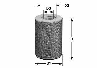 MA 733 CLEAN FILTER Luftfilter für SCANIA online bestellen
