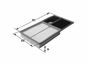 CLEAN FILTER Luftfilter MA3105