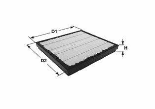 MA3428 CLEAN FILTER Luftfilter für MULTICAR online bestellen