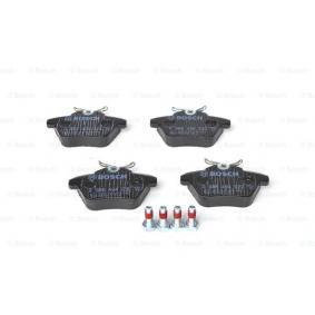 Brake Pad Set, disc brake 0 986 494 020 for ALFA ROMEO 164 at a discount — buy now!