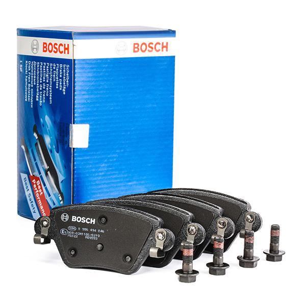 0 986 494 046 Bremsbelagsatz BOSCH - Markenprodukte billig