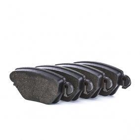 23557 BOSCH mit Montageanleitung, mit Anti-Quietsch-Blech, mit Schrauben Höhe: 51,9mm, Breite: 115,9mm, Dicke/Stärke: 16,9mm Bremsbelagsatz, Scheibenbremse 0 986 494 046 günstig kaufen