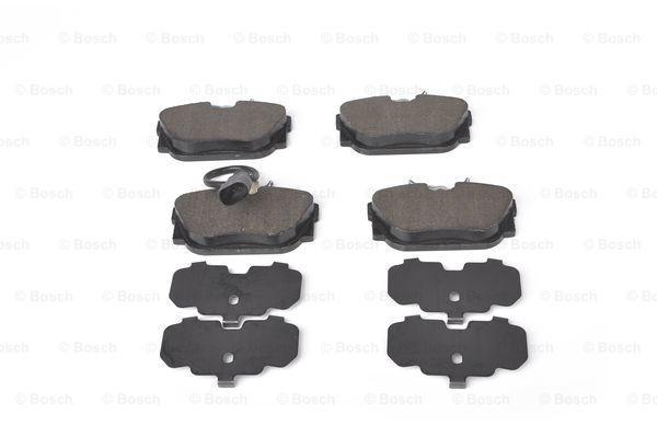 0986494051 Bremsbeläge BOSCH E1190R013857936 - Große Auswahl - stark reduziert
