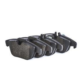 8452D1341 BOSCH med monteringsanvisning, Anti-skrik-plåt, med kolvlåsningar Höjd 1: 52,4mm, Höjd 2: 54,6mm, B: 122,5mm, Tjocklek: 16,7mm Bromsbeläggssats, skivbroms 0 986 494 162 köp lågt pris