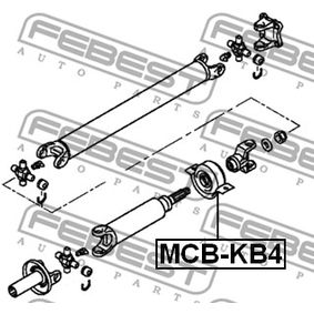Mr580647 Febest Center Bearing Support For Mitsubishi