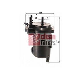 MGC1684 CLEAN FILTER Filtereinsatz Höhe: 190mm Kraftstofffilter MGC1684 günstig kaufen