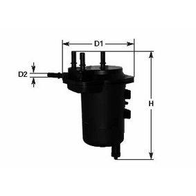 MGC1696 CLEAN FILTER ohne Wassersensor Höhe: 190mm Kraftstofffilter MGC1696 günstig kaufen