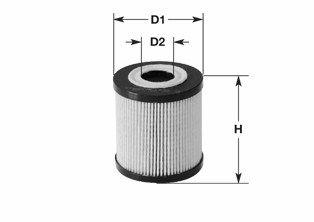 ML4503 CLEAN FILTER Filtereinsatz Höhe: 83mm Ölfilter ML4503 günstig kaufen