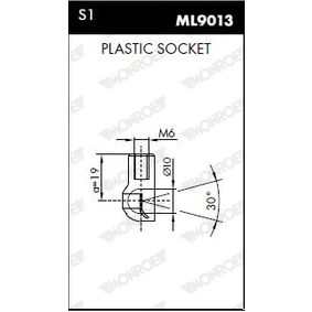 Heckklappendämpfer / Gasfeder ML5691 von MONROE