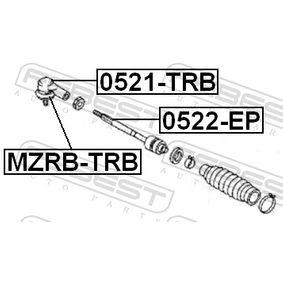MZRBTRB Reparatursatz, Spurstangenkopf FEBEST MZRB-TRB - Große Auswahl - stark reduziert