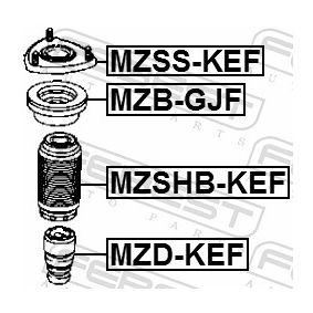MZSSKEF Lagerung, Stoßdämpfer FEBEST MZSS-KEF - Große Auswahl - stark reduziert