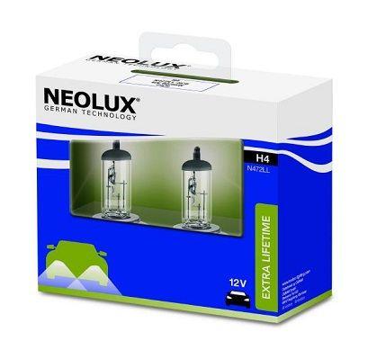 H4 NEOLUX® H4 12V 60 / 55W P43t Glühlampe, Fernscheinwerfer N472LL-SCB günstig kaufen