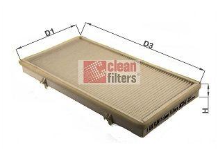 NC2141 CLEAN FILTER Filtereinsatz Höhe: 30mm Filter, Innenraumluft NC2141 günstig kaufen