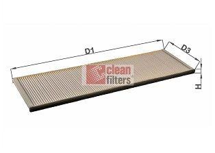 NC2362 CLEAN FILTER Filter, Innenraumluft billiger online kaufen