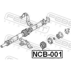 NCB001 Melllanlager, kardanaxel FEBEST NCB-001 Stor urvalssektion — enorma rabatter