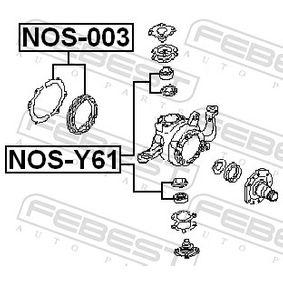 NOS003 Reparatursatz, Achsschenkel FEBEST NOS-003 - Große Auswahl - stark reduziert